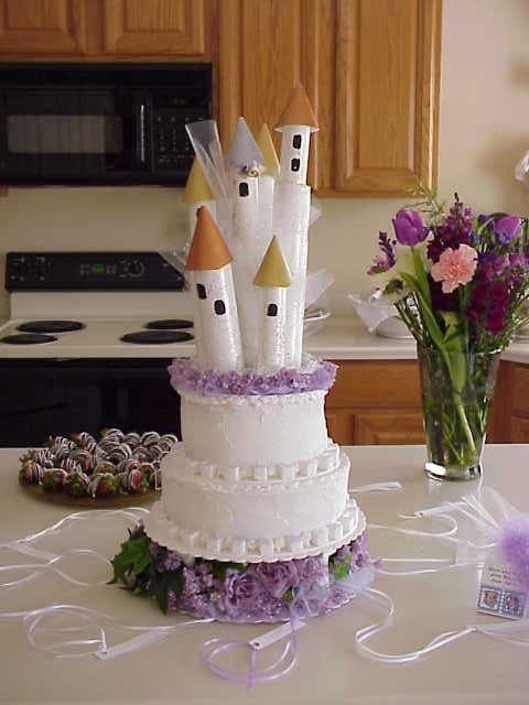 Do It Yourself Castle Cake