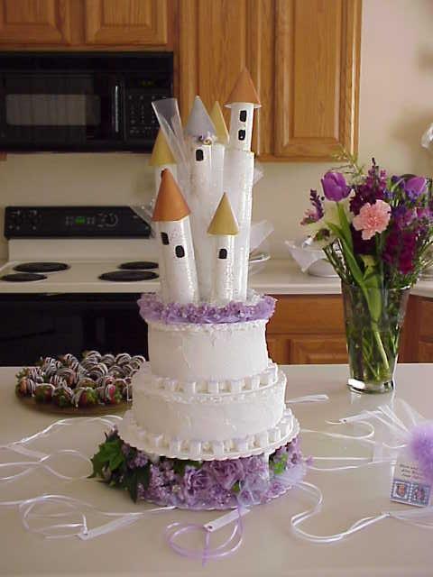 Do It Yourself Castle Cake